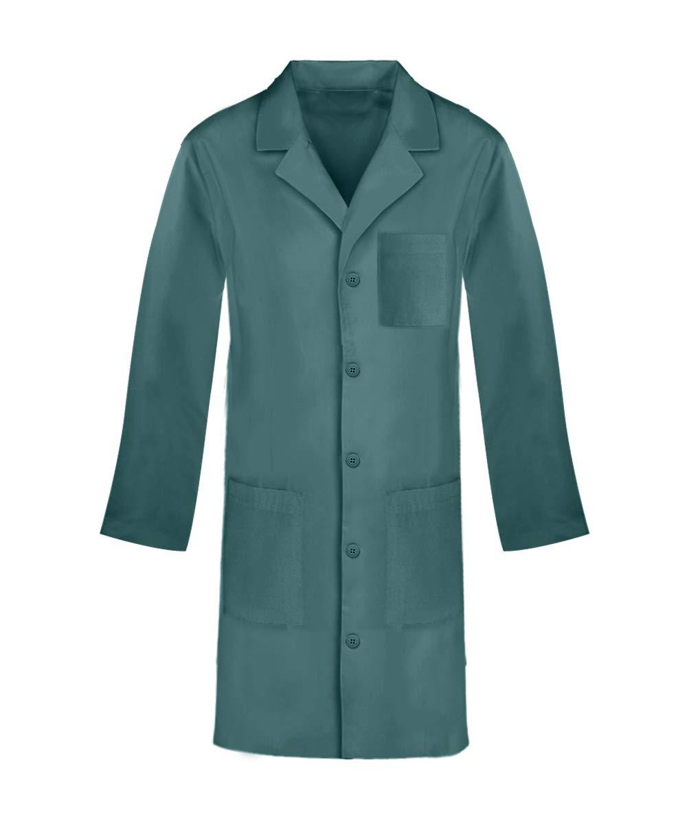 Panda Uniform Custom Colored 40 Inch Unisex Lab Coat -Hunter-2XL