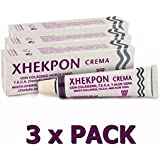 Pack 3x Xhekpon Cream Facial Neck Collagenum Fast Shipping