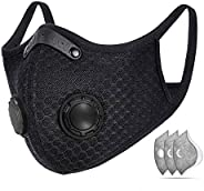 Sports Dust Mask, Adjustable Breathable Face Mask