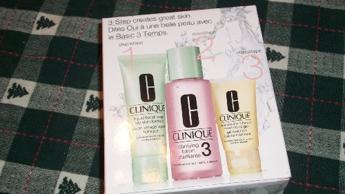 020714464073 - CLINIQUE 3-Step Introduction Kit For Oilier Skin (Type 3) carousel main 0