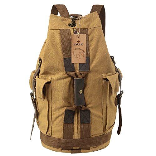 vintage backpack for hiking - 7