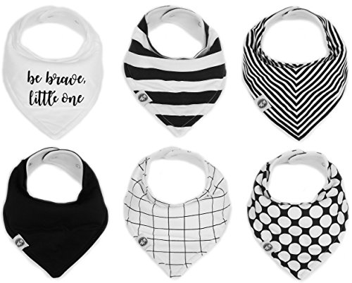 Bandana Drool Girls Monochrome Mumby