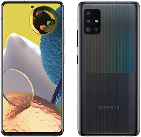 Samsung Galaxy A51 5G   A516U   128GB   Single SIM   GSM Unlocked   Android Smartphone   Black (Renewed) WeeklyReviewer