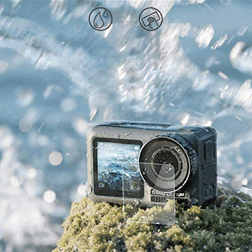 - Finedayqi  1Set Explosion-Proof TPU Screen+Lens Protector Film for DJI OSMO Action Camera