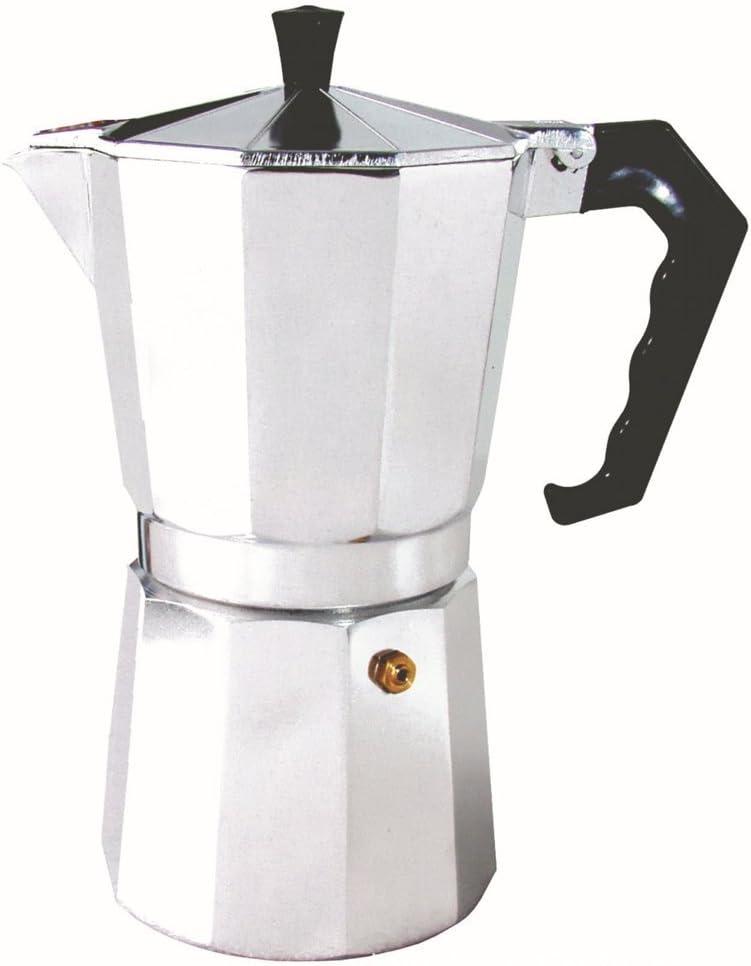 Backbayia 9/12 Tazas Italiano percolador de Moka – Cafetera Espresso café Jarra Cafe Maker – Cafetera de émbolo, 9 Tassen: Amazon.es: Hogar