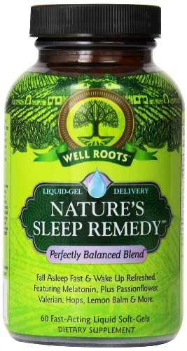 Well Roots Nature's Sleep Remedy Supplement, 60 Count
