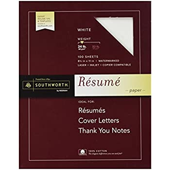 amazon com southworth r14icf 100 cotton resume paper ivory