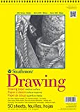 "Strathmore 340-11  300 Series Drawing Pad, 11""x14"" Wire Bound, 50 Sheets"