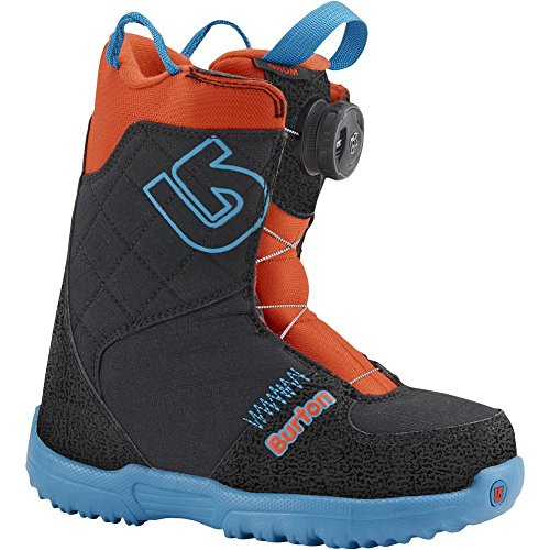 Burton Unisex Grom Boa '16 (Little Kid) Webslinger Blue Boot (Grom Lace Boot)