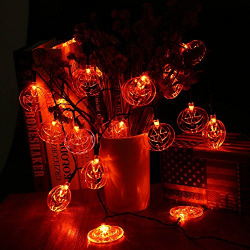 Halloween Purple Led String Lights : LUCKLED Set of 3 Battery Powered Halloween String Lights, 20 LED Fairy Decorative Lights for ...