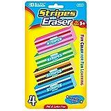 BAZIC Fashion Eraser (4/Pack), Box Pack of 24