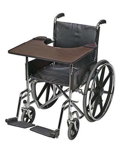 DMI Wood Wheelchair Tray by (Mabis Wood)