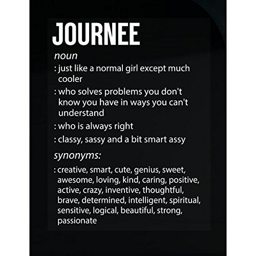 Journee Name Meaning Xmas Birthday Gift - Sticker Journee Accent