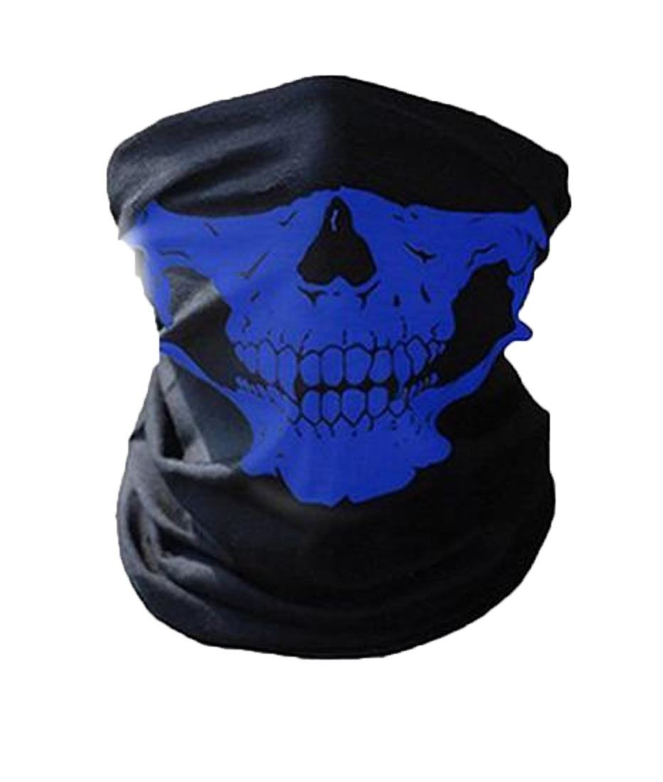 Winwinus Mens Multifunction Warm Cycling?Face?Mask For Outdoor Sports Royal blue One Size