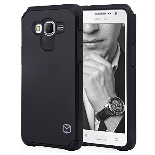 Grand Prime Case, MP-MALL [Dual Layer] [Shockproof] Armor Hybrid Defender Anti-Drop Rugged Premium Protective Case Cover Fit For Samsung Galaxy Grand Prime - Grand Falls Mall