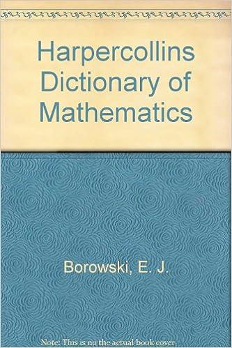 Book Harpercollins Dictionary of Mathematics