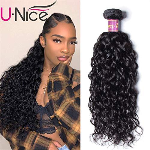 - UNice Brazilian Water Wave 8A Grade 100% Virgin Human Hair 1 Bundle Natural Color (26, Natural Color)