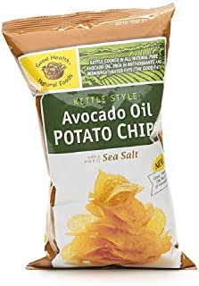 product image for Good Health Natural Foods Avocado Oil Potato Chips, Sea Salt, 12 pk 5 oz (142 g)