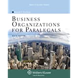 Business Organizations for Paralegals, Sixth Edition (Aspen College)