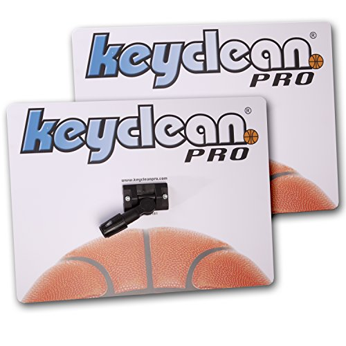 Keyclean Pro Sweat Mops | Set of 2 | Includes 4 Highly Absorbent Microfiber Pads