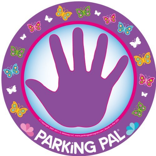 Parking Pal Car Magnet-Parking Lot Safety for Children (Butterfly) by Parking Pal