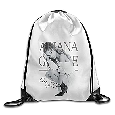Bekey Ariana Grande Gym Drawstring Backpack Bags For Men & Women For Home Travel Storage Use Gym Traveling Shopping Sport Yoga Running