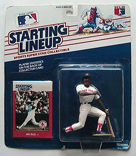 Starting Lineup 1998 Major League Baseball Jim Rice of Boston Red Sox Figure