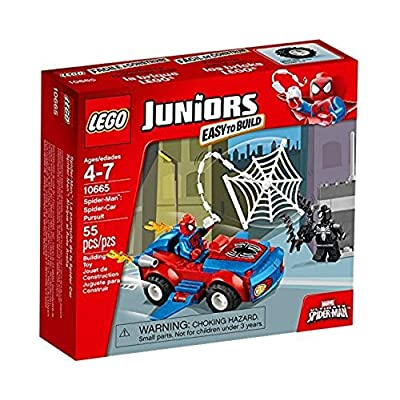 LEGO Juniors 10665: Spider-Man Spider-Car Pursuit: Toys & Games