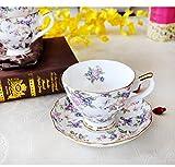 Blue Stones European Bone china coffee set Creative simple ceramic porcelain dish Afternoon tea milk cup 200ML