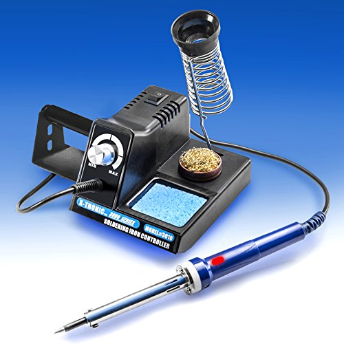 X-TRONIC 3000 SERIES - MODEL #3010-XTS VARIABLE POWER 70 WATT SOLDERING STATION WITH EXTRA HEATING ELEMENT AND SPONGE, BRASS SOLDERING TIP CLEANER INCLUDED WITH A SUPPLY OF FLUX IN THE BOTTOM OF THE CAN -  MT-RPN-33945809