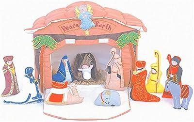 Alma's Designs Nativity House by Alma's Designs