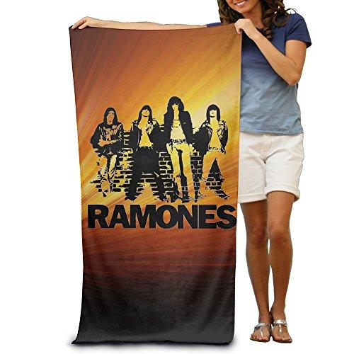 ^GinaR^ 300g Ramones Punk Rock Band Lightweight Adult Beach (Ac Dc Printed T-shirts)