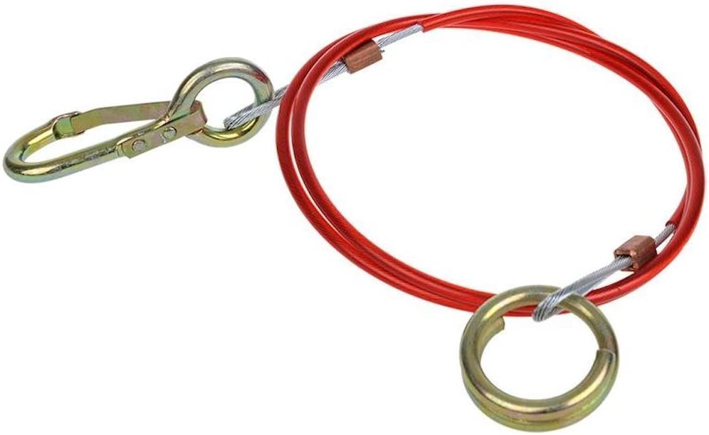 Câble de frein abreisseil cordon sécurité pour remorque 1 m