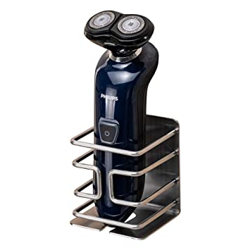 2 X Soporte Para Hombre Maquinilla De Afeitar Afeitadora Colgador de pared Montaje de almacenamiento de accesorios de baño
