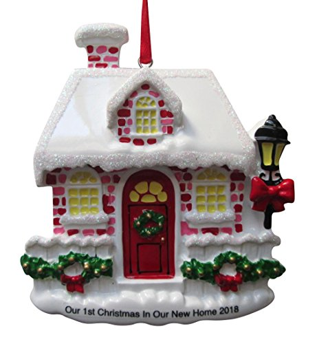 2018 Our First Christmas in Our New Home Christmas Ornament -