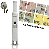 Candle Lighter – SPPARX USB Lighter - BBQ Lighter & Decorative Hanger – Electronic Stove gas lighter, Flameless, Rechargeable Lighter, Windproof, USB cable included, Gift Box (White plus)