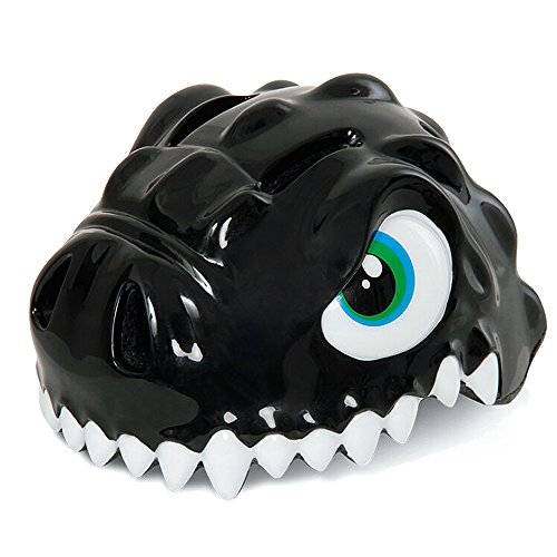 ESASAM 3D Design Dinosaur Infant/Toddler Bike Helmets For Kids (BLACK)