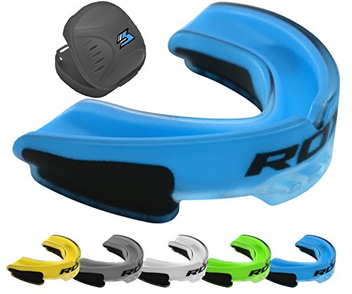 RDX Mouthguard Boxing Gum Shield Braces MMA Kickboxing Muay Thai Bite Guard Mouthpiece Mouth Protector Martial Arts Hockey Judo Karate Rugby – DiZiSports Store