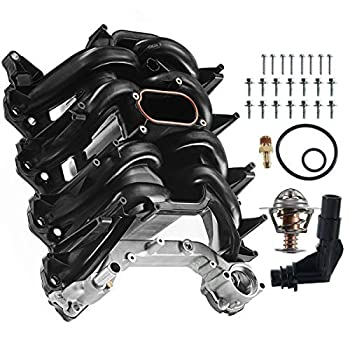 Image of Intake Manifold A-Premium Upper Intake Manifold with Gasket Kit for Ford Expedition Excursion F-150 E-150 E-250 E-350 Super Duty