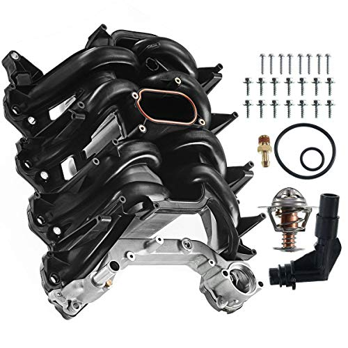 - A-Premium Upper Intake Manifold with Gasket Kit for Ford Expedition Excursion F-150 E-150 E-250 E-350 Super Duty