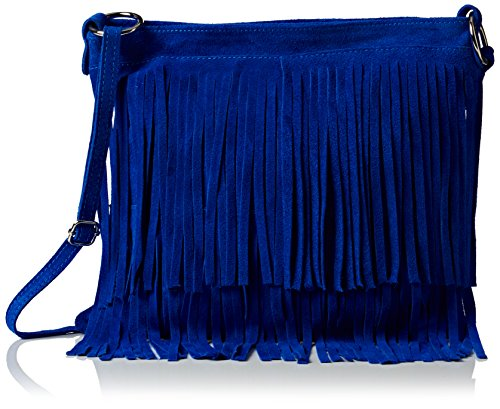 Girly Azul Bandolera Mujer Blue Daniela Bolso Handbags Royal AnAxrfO7v