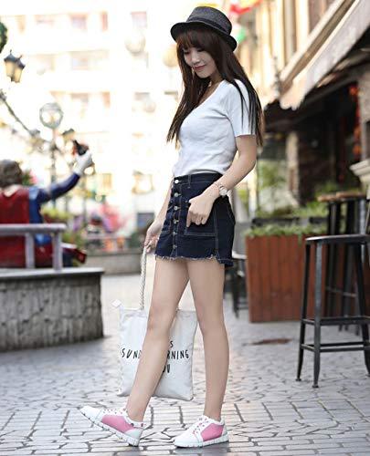 casual Ladies Low 35 Academy Primavera Exing Dimensione Sneaker Scarpe C New traspirante Scarpe B donna da Mesh Colore Top Autunno Y7Bvp14