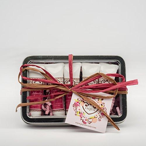 Jaqua Raspberry Buttercream Frosting (Jaqua Beauty Hand Cream Set | Raspberry Buttercream Frosting Sweet Mini Hand Cream Gift Set)