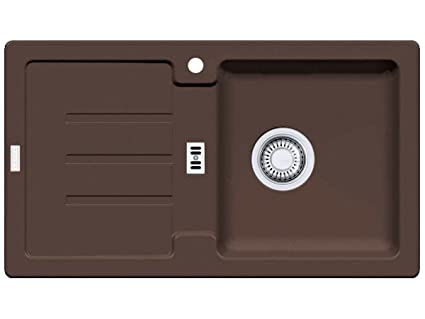 Franke Strata STG 614 - 78 Chocolate - Lavello da cucina FRAGRANITE ...