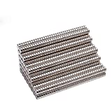 250pcs 2x1 mm Round Cylinder Magnets Deep DIY Personalized Multi-Use for Fridge Door Whiteboard Magnetic Map Magnetic Screen Door Bulletin Boards Refrigerators (2x1mm)