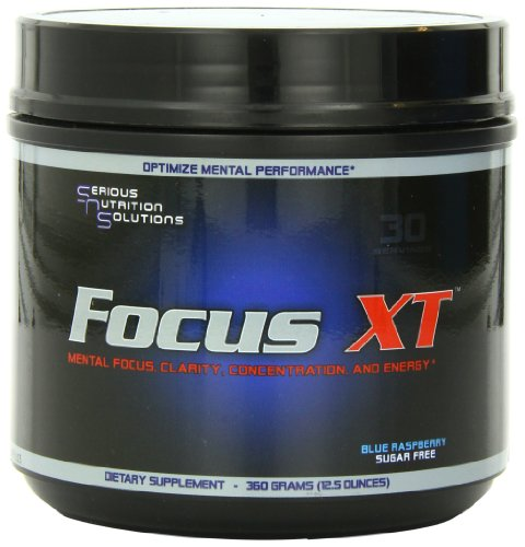 Serious Nutrition Solution Focus XT, Blue Raspberry