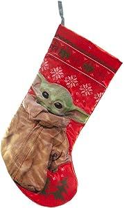 Kurt Adler Star Wars Baby Yoda Christmas Stocking
