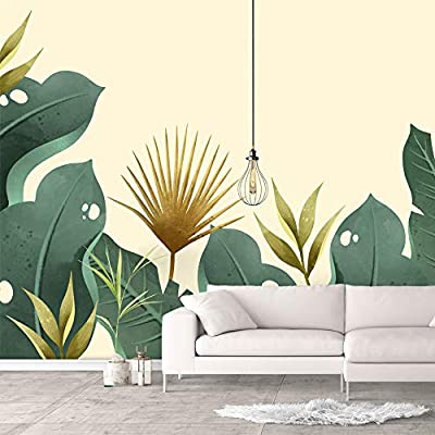 With Expert Quality, Alluring Portrait, Wall Murals for Bedroom Green Plants Animals Removable Wallpaper Peel and Stick Wall Stickers