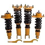 adjustable coil over - Coilovers for Mazda RX-8 2004-2011 Struts Coil Over Shocks Adjustable Height