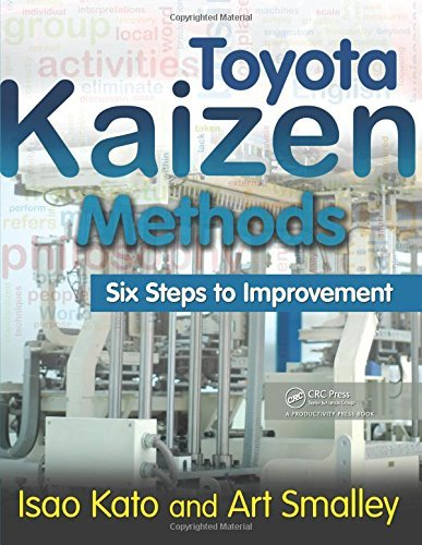[Toyota Kaizen Methods: Six Steps to Improvement] [Author: Kato, Isao] [October, 2010] (Toyota Kaizen Methods Six Steps To Improvement)
